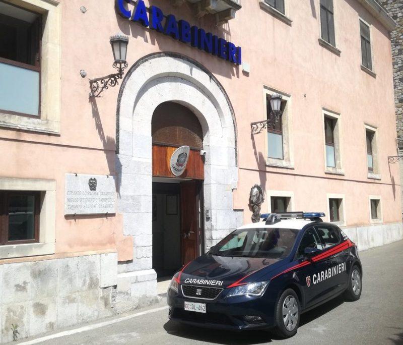 Taormina: rubano in quattro negozi del centro storico. Arrestata un'anziana coppia di turisti