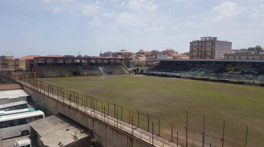 Giarre, stadio regionale: rampa in cemento armato per rendere agibile la tribuna B