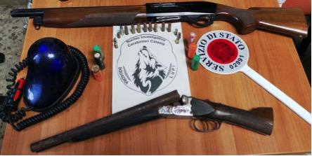 """Catania, operazione dei """"Lupi"""": scovate armi e munizioni al Villaggio S. Agata"""