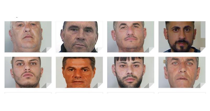 Catania, droga ed estorsioni. Arresti della polizia NOMI FOTO VIDEO