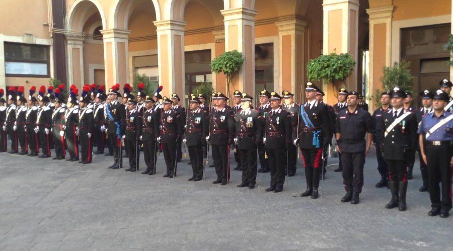 Catania, Festa dell'Arma: encomi anche alla Compagnia di Giarre