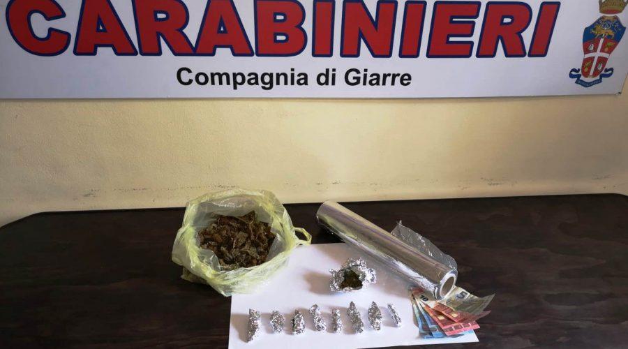 Castiglione, 21enne arrestato per detenzione di marijuana