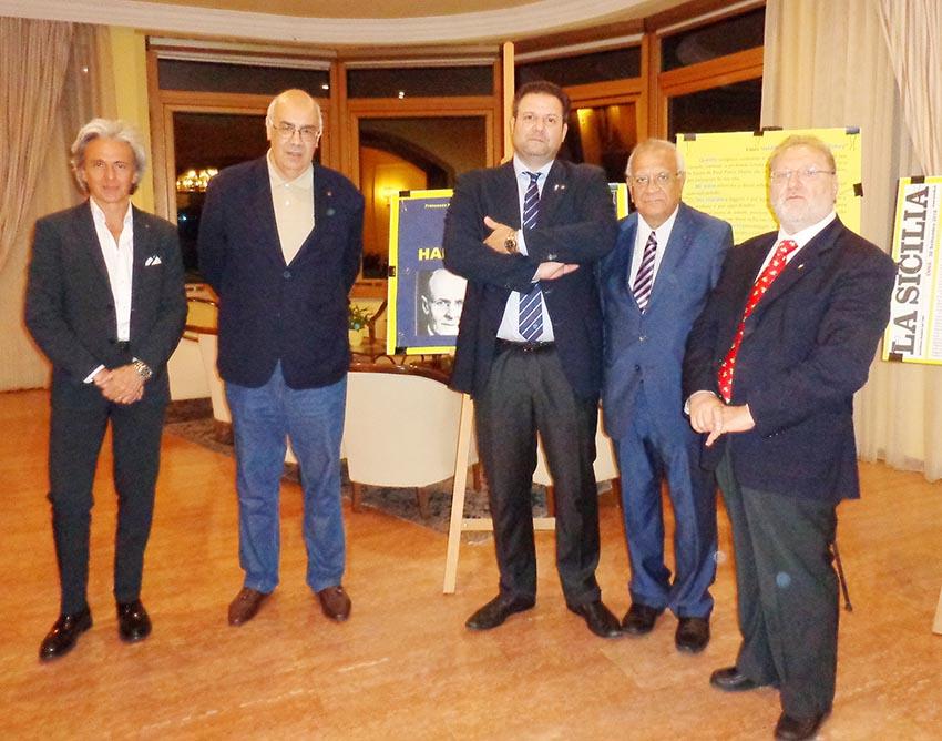 """Taormina, presentato il libro """"Harris, il fondatore del Rotary"""""""