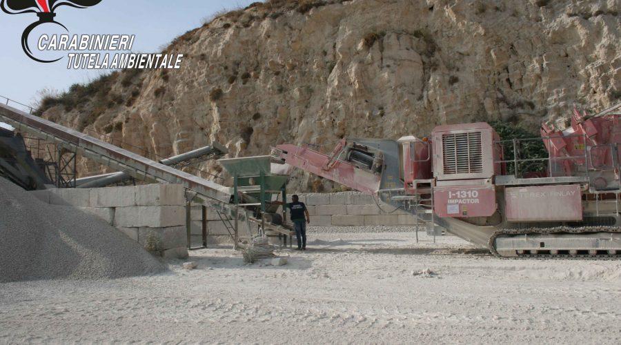 I carabinieri del Noe sequestrano impianto di frantumazione