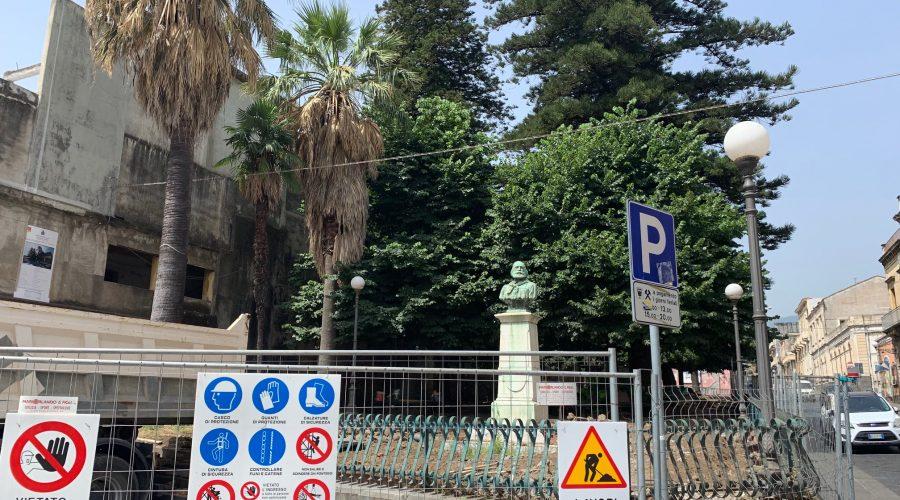 Giarre, sospeso a tempo indeterminato il cantiere di villa Garibaldi. Doccia fredda per l'amministrazione