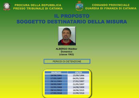 Guardia di finanza di Catania sequestra beni ad esponente clan Triglia