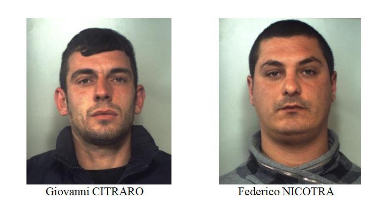 """Catania, presi mentre spacciano """"coca"""" e """"erba"""""""