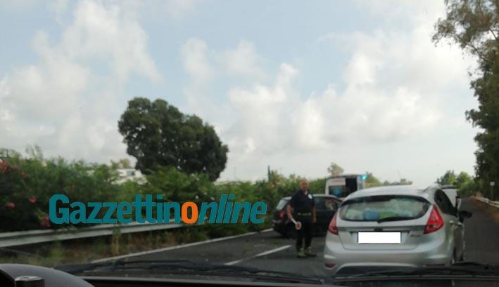 A18, incidente nel tratto tra Acireale e Giarre. Traffico rallentato