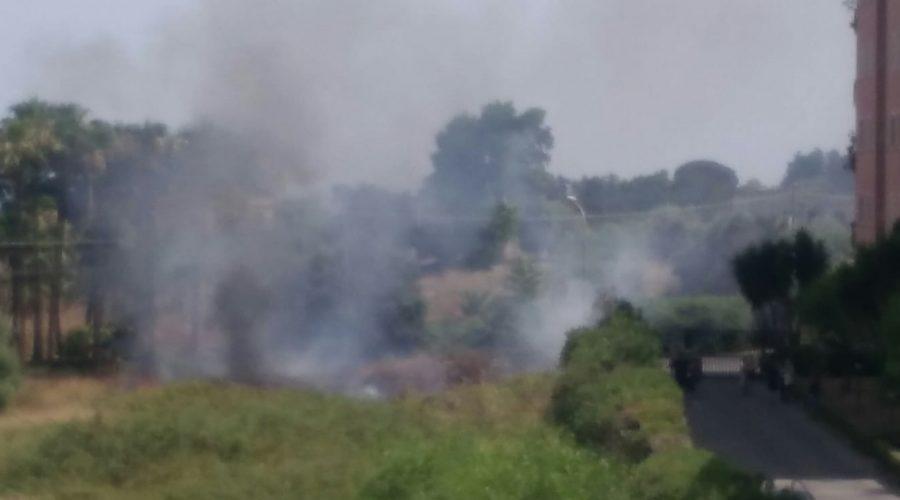 Piano Provenzana, a fuoco un ettaro di vegetazione