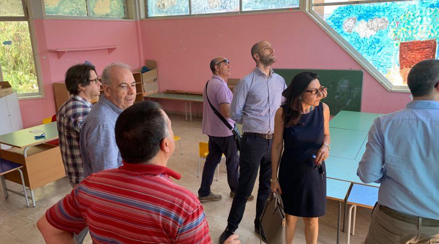 Giarre, task force della  Regione in visita alla materna Collodi VIDEO