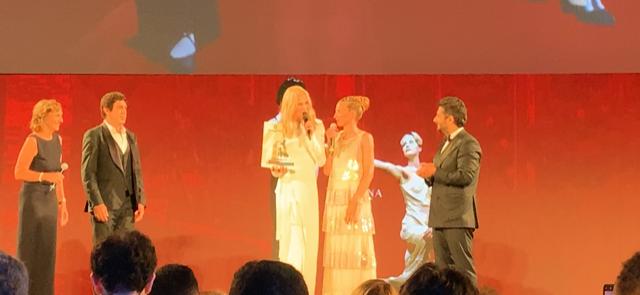 Taormina risplende con Nicole Kidman al teatro antico VIDEO