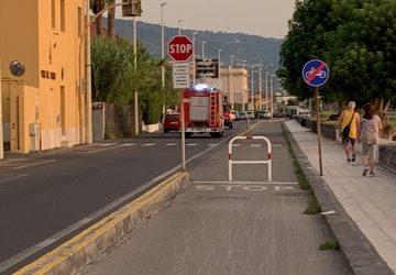 Incendio rifiuti a Santa Maria la Strada e Fondachello