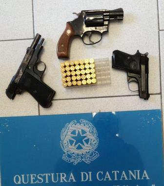 Catania, nuovi serrati controlli a Librino, sequestrata una pistola