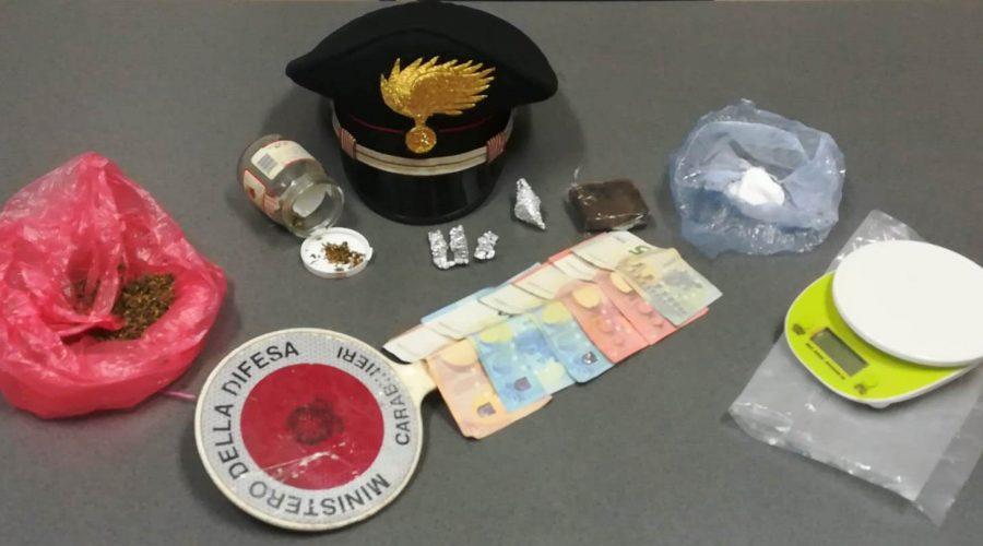 Carabinieri neutralizzano centrale dello spaccio a Fondachello: un arresto