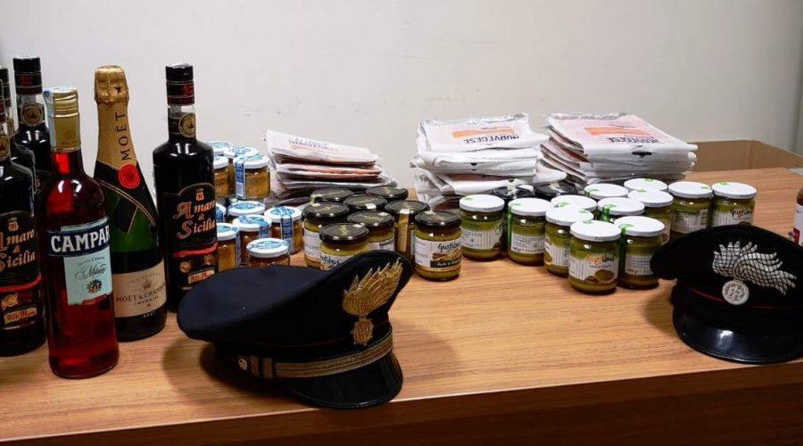 Fiumefreddo, fermate due donne che rubavano merce in supermercato