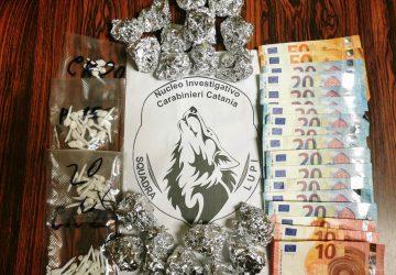 Catania, un arresto per spaccio e detenzione illecita di stupefacenti