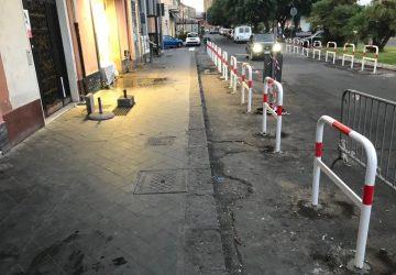 Riposto, archetti dissuasori contro i parcheggi selvaggi. Provvedimento del sindaco Caragliano