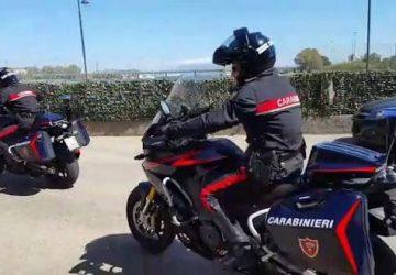 Catania, spacciatore 22enne arrestato dai carabinieri motociclisti.