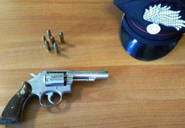 Catania, minacciava l'ex moglie e la figlia con un revolver clandestino: arrestato e rinchiuso in carcere