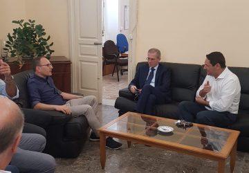 Casello A18 a Mascali, tavolo operativo al Comune con l'assessore regionale Falcone e il senatore Anastasi