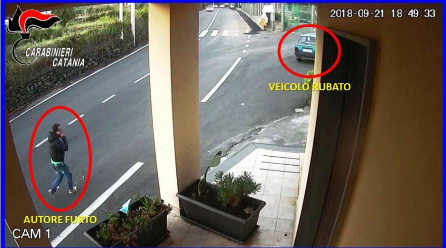 Belpasso, arrestato ladro specializzato nei furti di autovetture