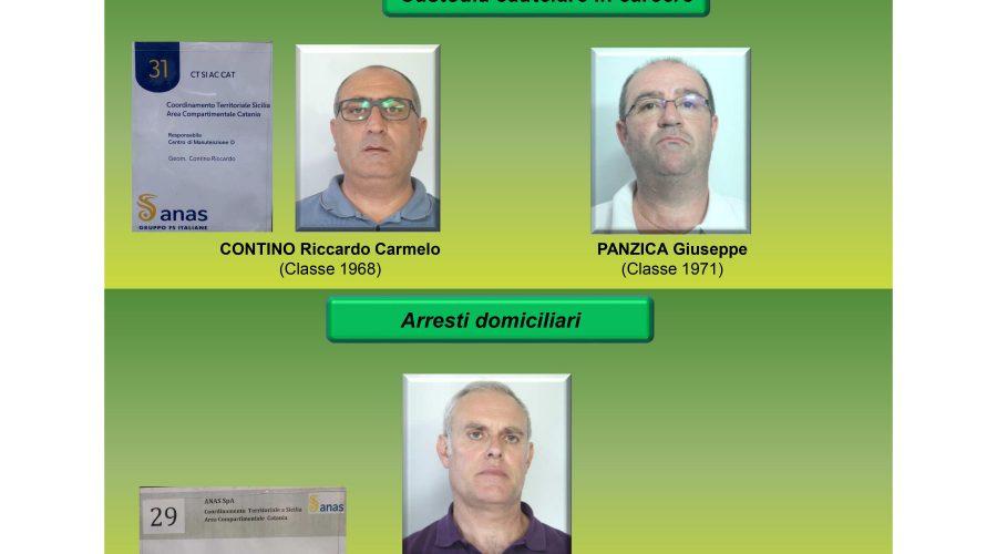 Catania, corruzione all'Anas, arrestati dalla Guardia di finanza tre funzionari NOMI FOTO VIDEO
