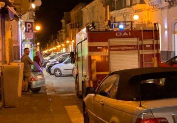 Giarre, fuga di gas nella zona di corso Italia. Intervento dei Vigili del fuoco