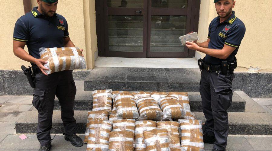 Catania, Guardia di finanza: contrasto duro allo spaccio di stupefacenti