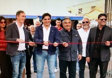 Catania, il sindaco Pogliese inaugura la Fiera dei morti