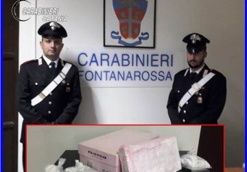 Blitz antidroga a Catania: sequestrati 1,5 Kg di cocaina. Conviventi in manette