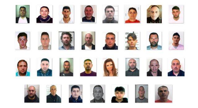 Duro colpo al clan Santapaola Ercolano: 32 arresti NOMI FOTO VIDEO