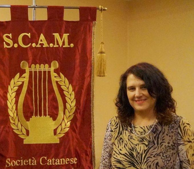 Anna Rita Fontana è la nuova presidentessa della Società Catanese Amici della Musica