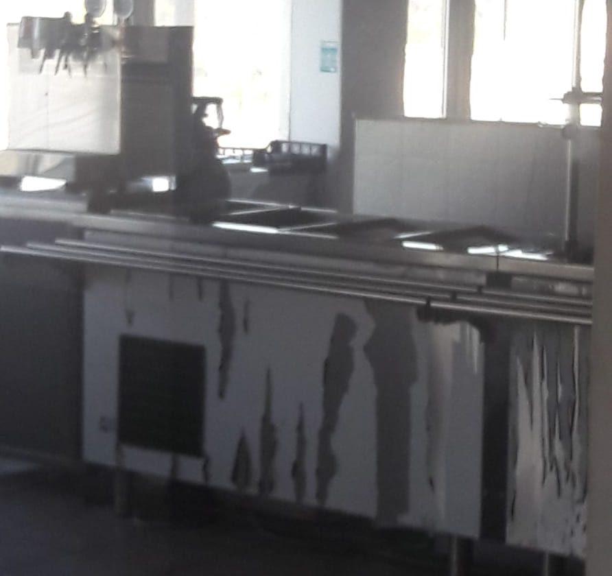 I Nas chiudono la mensa del distaccamento aeroportuale dei vigili del fuoco
