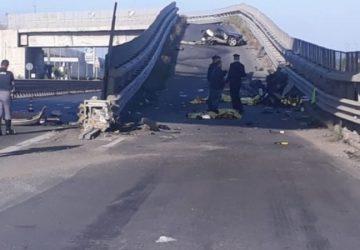 Alba mortale a Belpasso, gravissimo incidente: 4 morti e un ferito