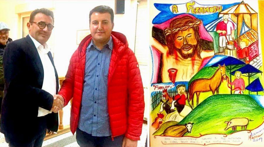 """Mojo Alcantara: il Crocifisso ligneo e la """"Fera"""" nella pittura di Damiano Marra"""