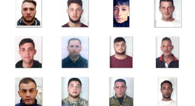 Catania, vasta operazione antidroga a Picanello: 12 arresti dei carabinieri NOMI FOTO VIDEO