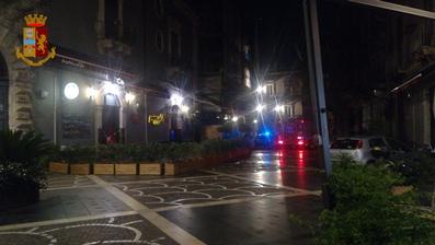 Catania, controlli serrati nella movida: sequestrati 4 locali per carenze igieniche