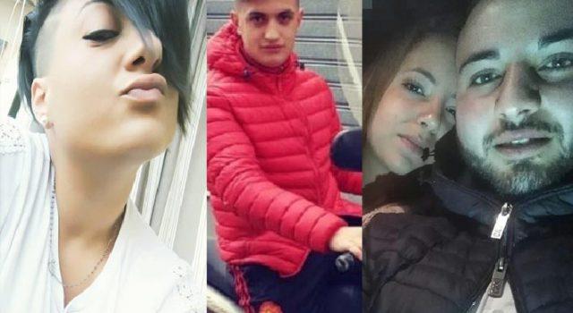 Adrano piange le quattro giovani vittime dell'incidente di Belpasso
