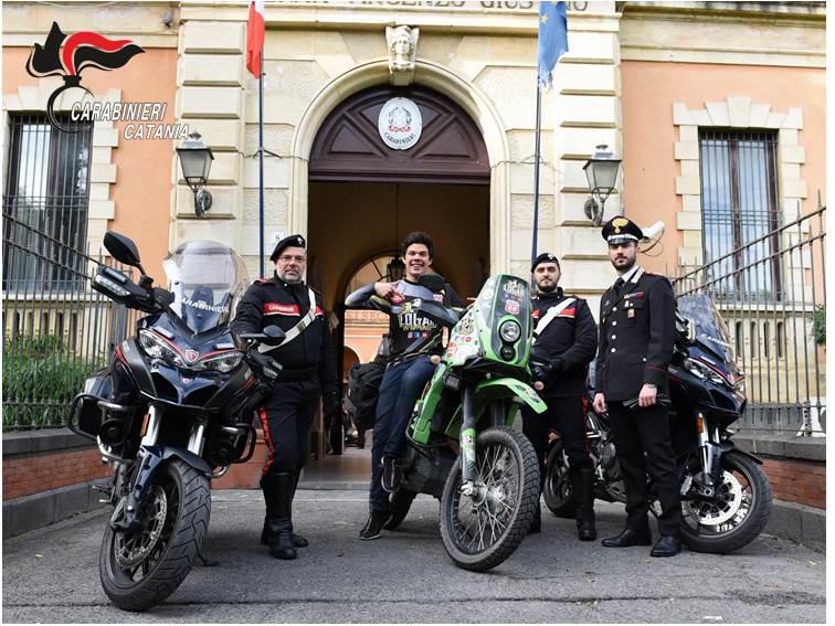 Grazie ai carabinieri il sogno di Bernardo Logar riparte da Catania