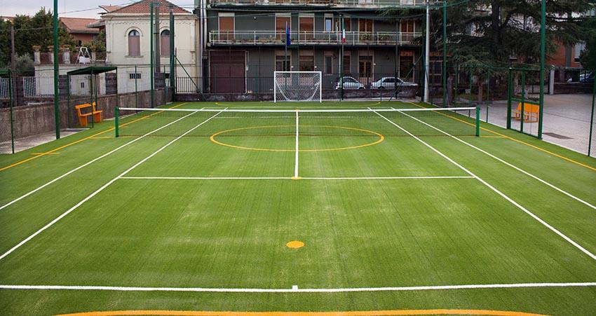 Inaugurato a Linguaglossa un nuovo campo in erba sintetica