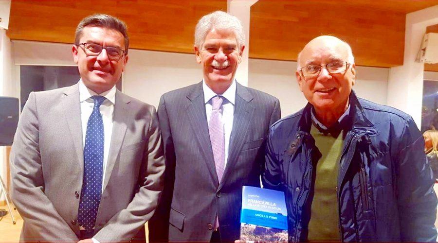 Francavilla di Sicilia: relazioni diplomatiche internazionali con l'Ambasciata di Spagna