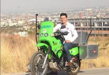 YouTuber messicano, dopo 110mila km di viaggio, subisce il furto della moto a Catania