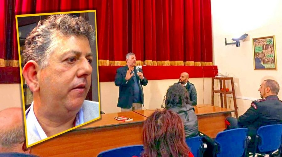 A Linguaglossa la testimonianza antimafia dell'eroico imprenditore Ignazio Cutrò