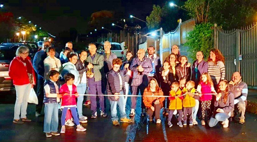 """Paternò: i residenti di Vico Giordani si """"illuminano"""" da soli"""