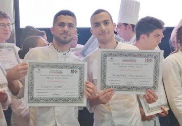 Due studenti dell'Alberghiero di Giarre premiati alla Rassegna Internazionale Italian Style
