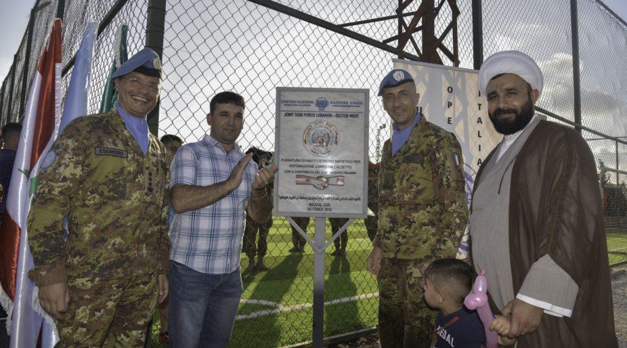 La Brigata Aosta in Libano riceve le chiavi della città di Majda Zun