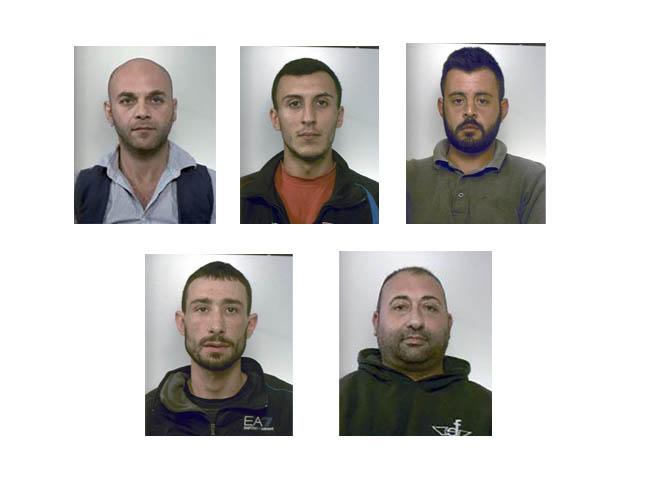 Vasta operazione antidroga dei carabinieri: 5 arresti tra Giarre, Fiumefreddo e Calatabiano