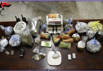 Catania, blitz antidroga in via Capo Passero: sequestrati 40.000 euro in contanti, cocaina e marijuana