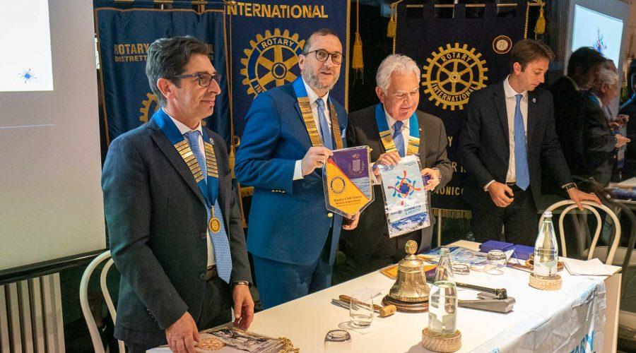 Il governatore del Rotary visita i club di Giarre e di Randazzo
