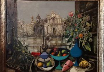 Quadro di Jean Calogero donato al Comune di Catania: oggi la cerimonia